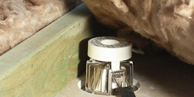 led downlights insulation sustain energy